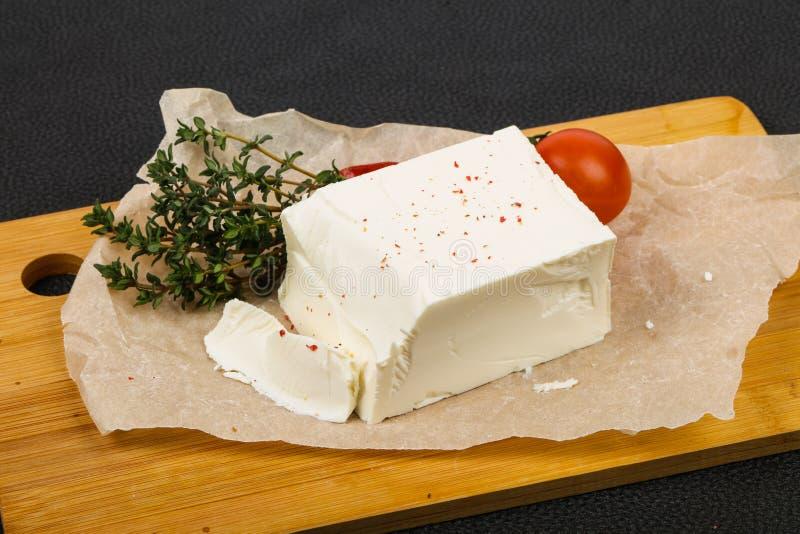 Traditional Feta Cheese royalty free stock photos