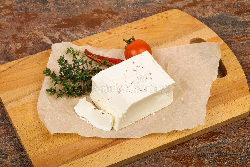 Traditional Feta Cheese royalty free stock photography