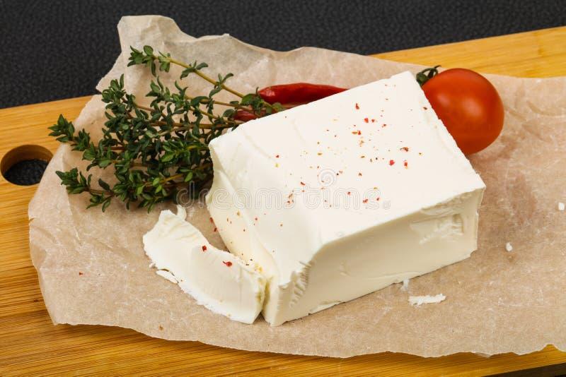 Traditional Feta Cheese stock photo