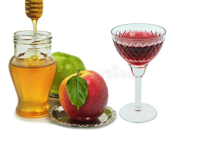 Download Traditional Food For Rosh Hashanah Royalty Free Stock Photos - Image: 32907088