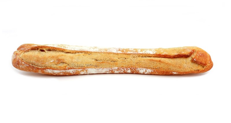 Traditional french bread royalty free stock images