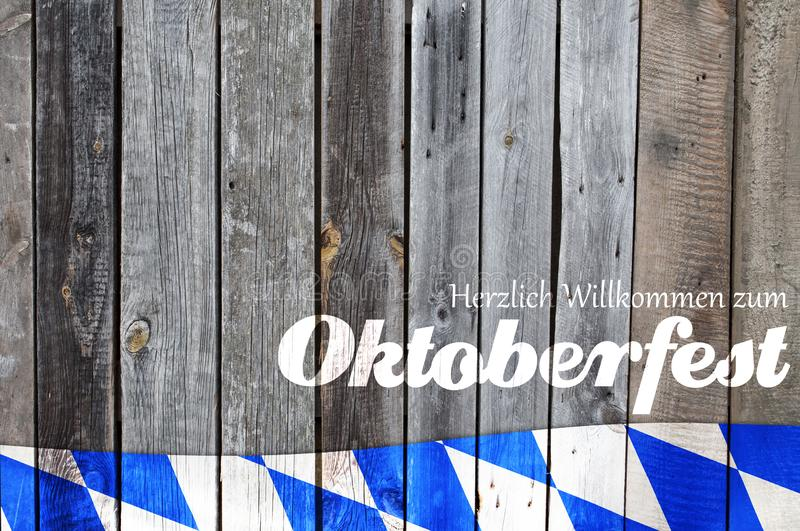 Traditional german bavarian festival Oktoberfest with pretzels, beer and gingerbread heart royalty free stock photo
