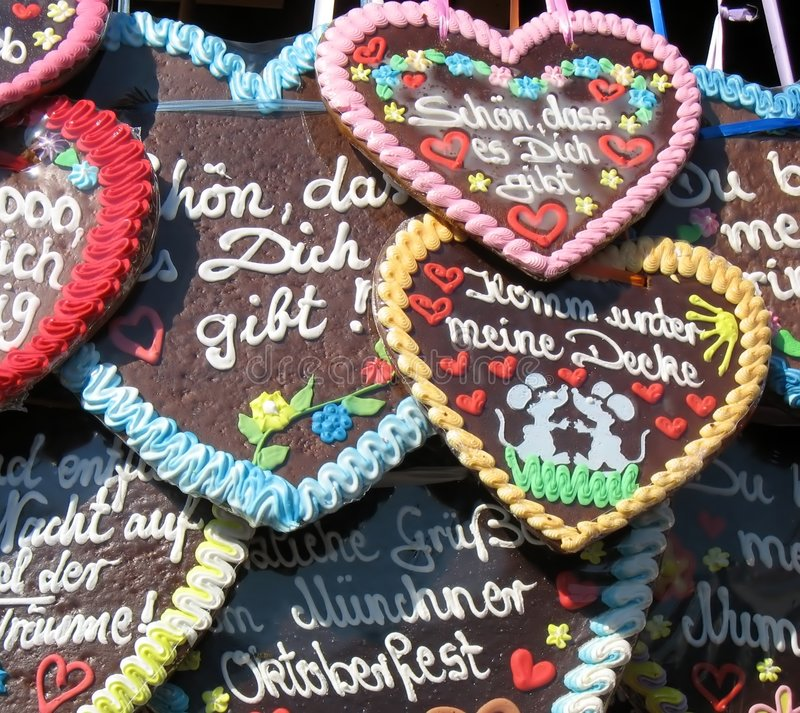 Free Traditional German Gingerbreads From Oktoberfest Royalty Free Stock Photo - 6480405