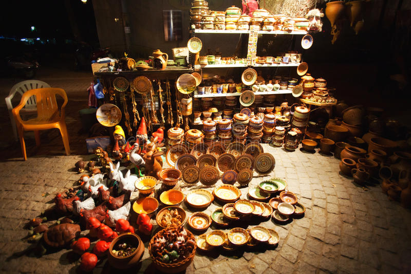 Traditional Gifts Shop Stock Photography