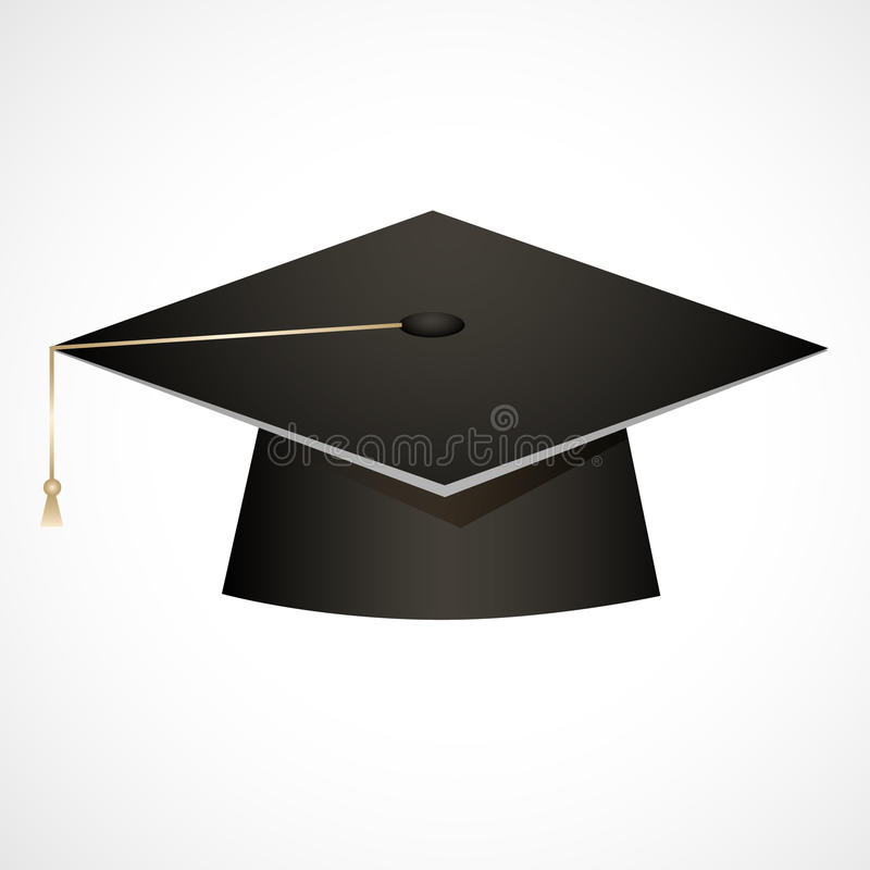 Download Traditional graduation hat stock illustration. Image of celebration - 32431172