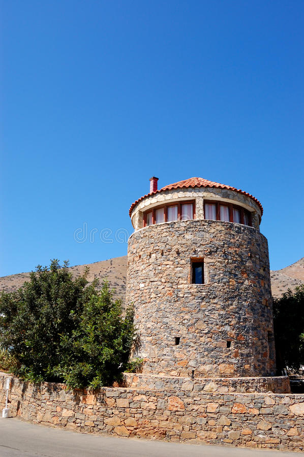 Download Traditional Greek Architecture At Crete Island Stock Photo - Image: 17086348