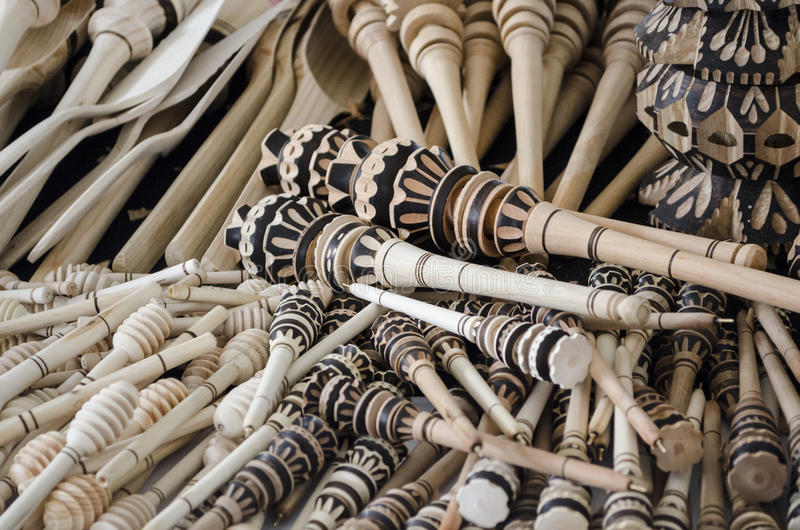 Traditional handicraft in Oaxaca, Mexico. Close-up of traditional handicraft in Oaxaca, Mexico stock photo
