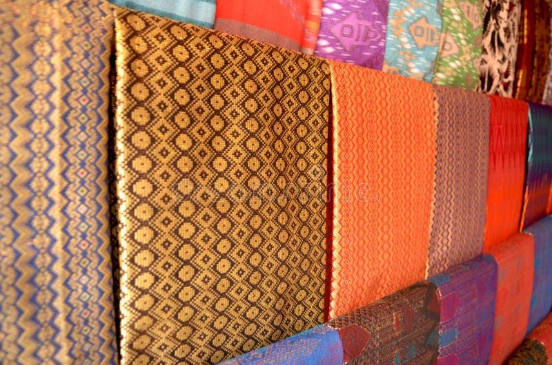 Woven fabric. Traditional handmade woven fabric from sasak tribe, lombok island royalty free stock photos