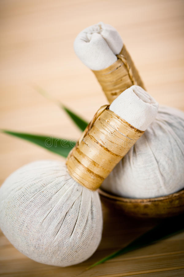 Download Traditional Herbal Compresses Stock Photo - Image: 15930524