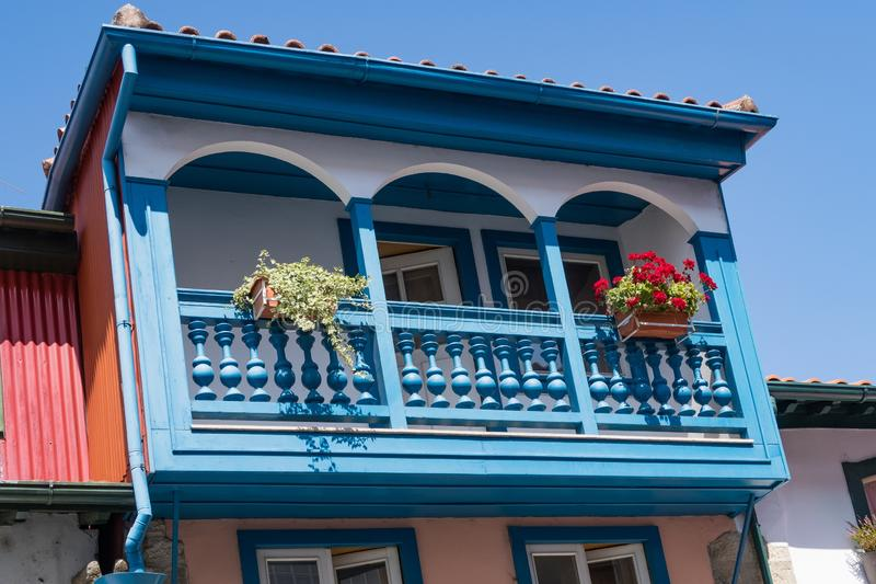 Traditional House - Chaves. Chaves is a Portuguese city with origins in the Roman civitas Aquæ Flavi stock photography