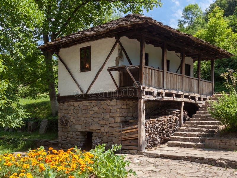 Traditional House in Etara stock photo