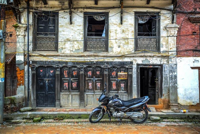 Bhaktapur Durbar Square, Nepal stock images