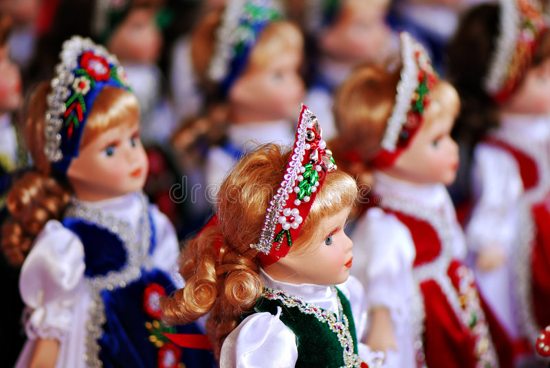 Download Traditional Hungarian Dolls Stock Photo - Image: 3438976