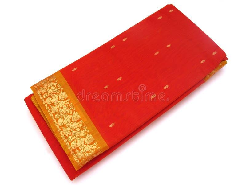 Traditional Indian Silk Saree royalty free stock image