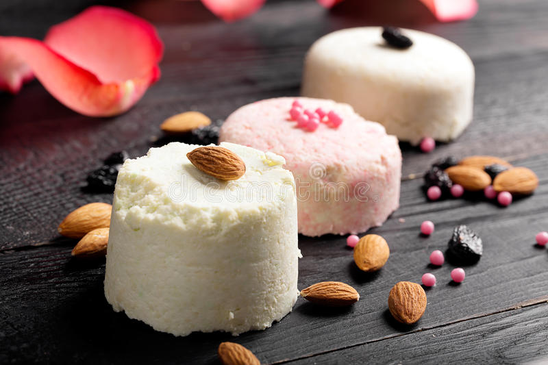Download Traditional Indian Sweet Sandesh Stock Photo - Image: 66032776