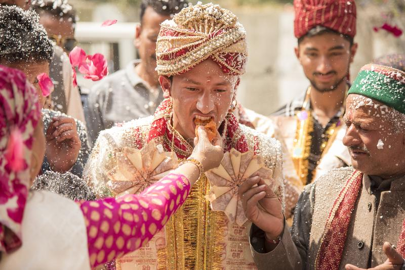Traditional Indian Wedding stock photography