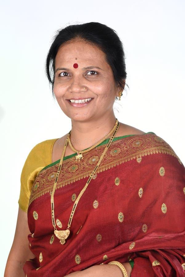 Traditional Indian woman stock photos