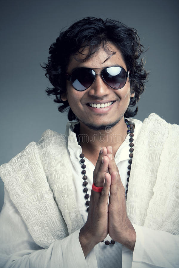 Download Traditional Indian Young Man Stock Photo - Image: 23541852