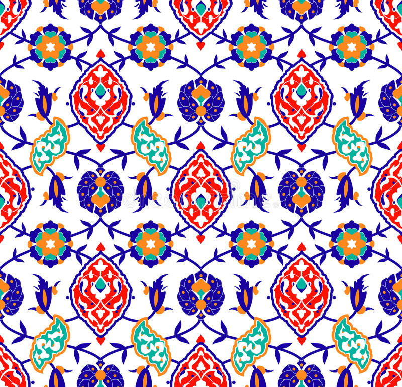 Download Traditional Islamic Flower Pattern Stock Photos - Image: 24433573