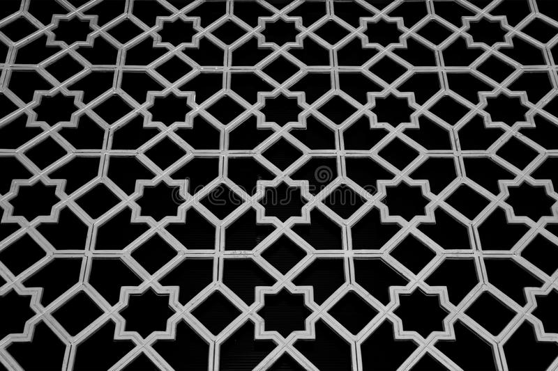 Traditional Islamic Pattern and Design. Used as a Background stock image
