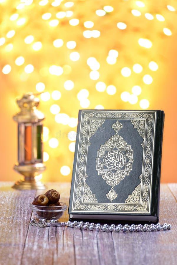 Traditional Islamic Ramadan Icons royalty free stock photo