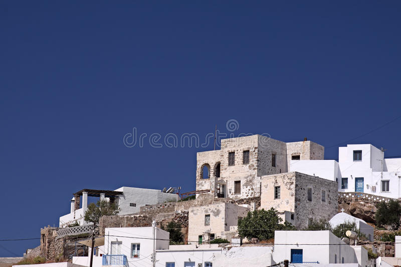Download Traditional Island Village stock photo. Image of milos - 11050786