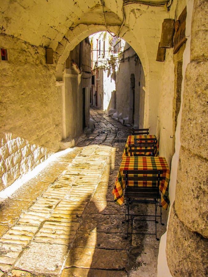 Ostuni, Italy royalty free stock image