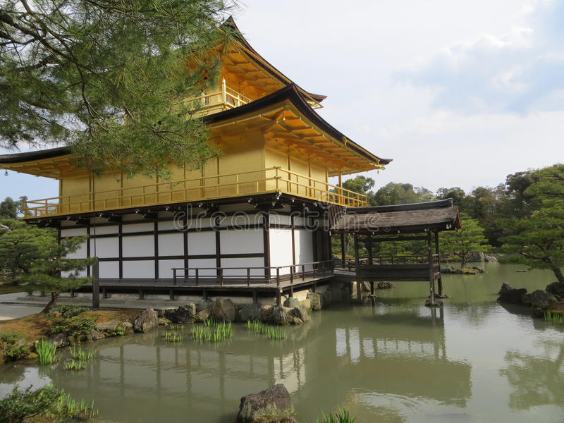 Traditional japanese architecture royalty free stock photography