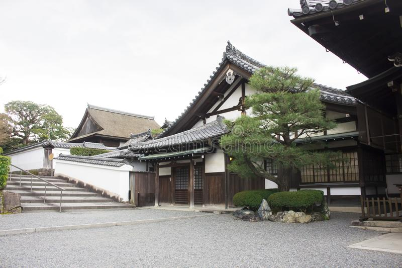 Traditional Japanese building royalty free stock photo