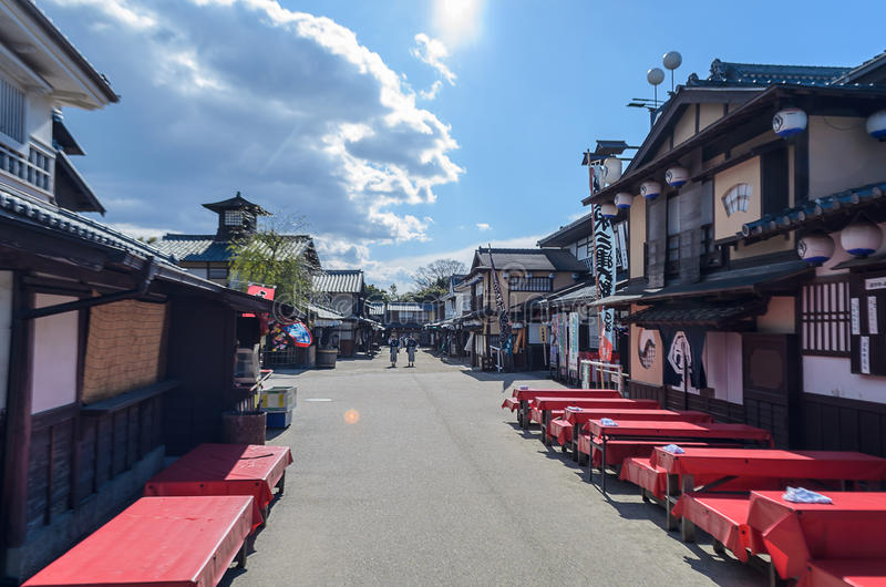 Traditional of Japanese Buildings, Street, Bistro or Restaurant. A Traditional of Japanese Buildings, Street, Bistro or Restaurant royalty free stock photos