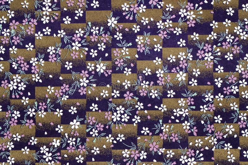 Traditional Japanese pattern background royalty free stock photo