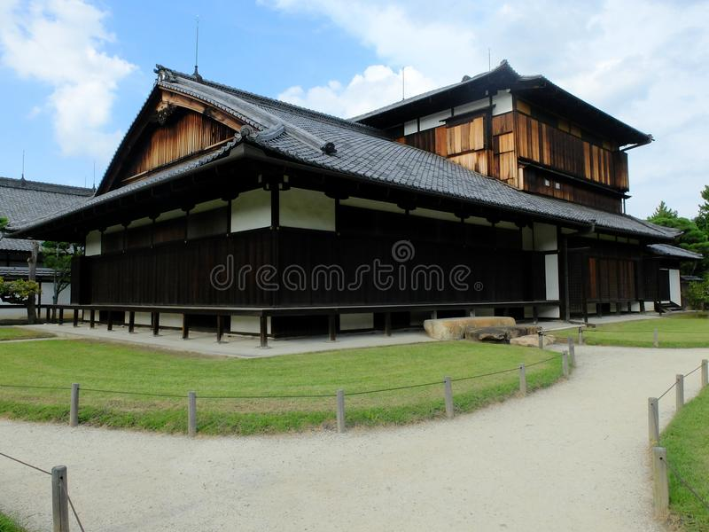 Download Traditional Japanese Style House With A Small Garden Stock Image    Image Of Path,
