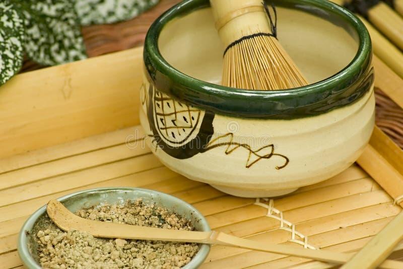 Traditional Japanese Tea Set royalty free stock image