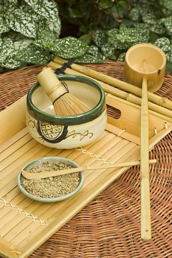 Traditional Japanese Tea Set royalty free stock photos