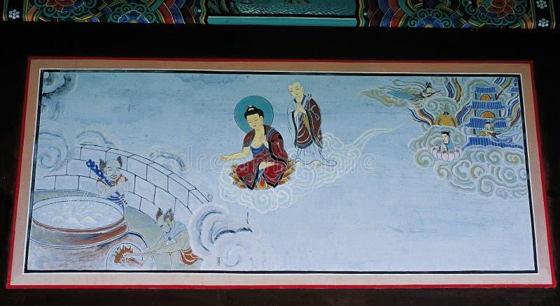 Traditional Korea image stock photo