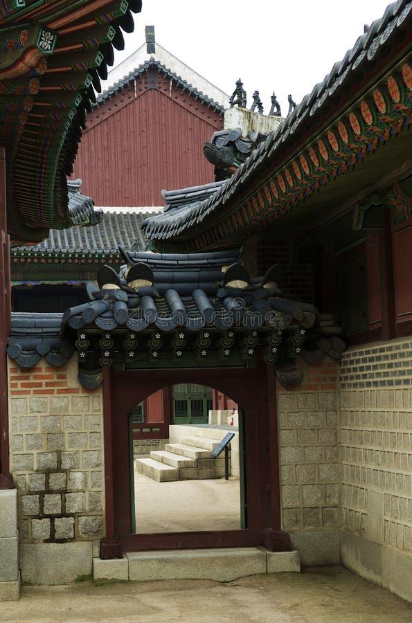 Traditional Korean home stock photo