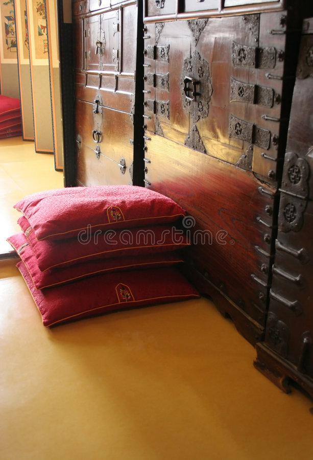 Download Traditional Korean house stock photo. Image of creative - 485258