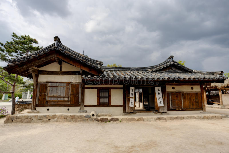 Download Traditional Korean House Editorial Image Of Famous