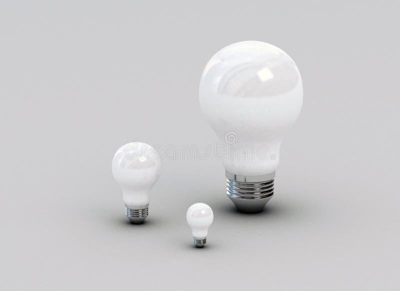 Download Traditional light bulbs stock illustration. Image of light - 12722521