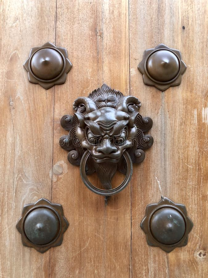 Traditional Door Knob stock image