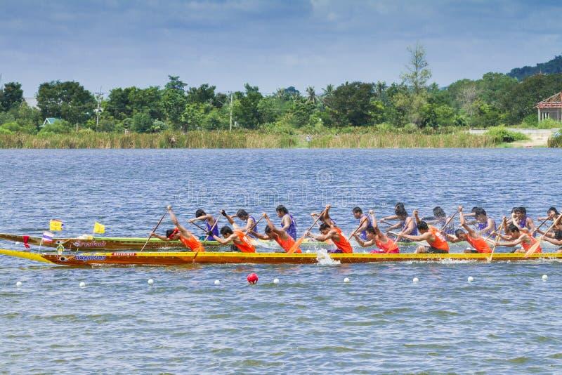 Download Traditional Long Boat Racing At Koa Toa Huahin 2013 Editorial Photography - Image: 34008972