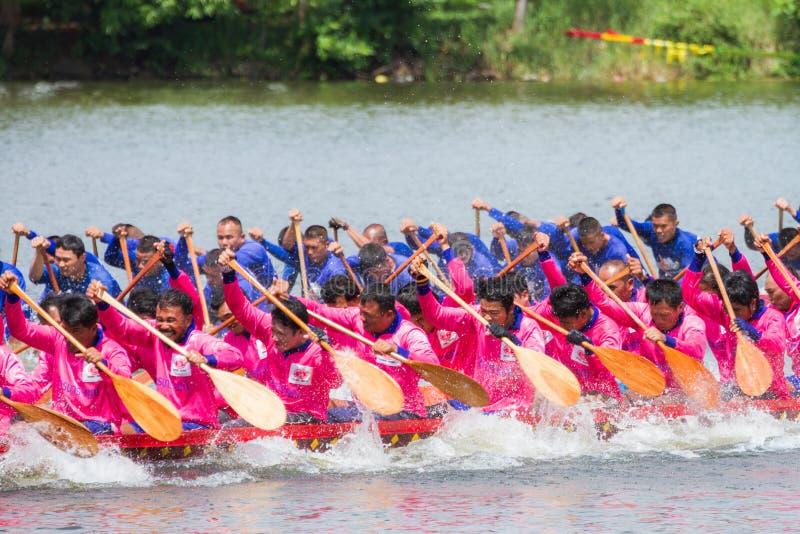 Download Traditional Long Boat Racing At Koa Toa Huahin 2013 Editorial Stock Image - Image: 34009009