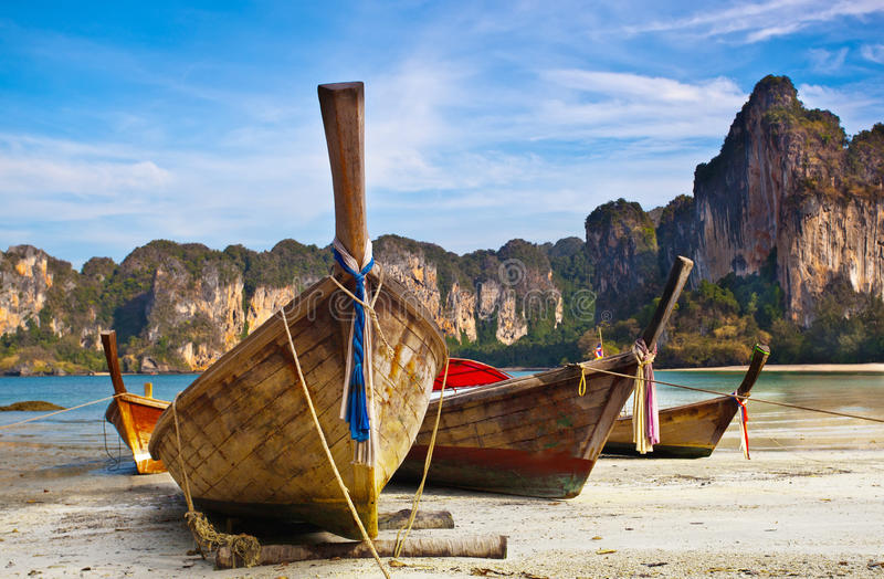 Download Longtail boats stock photo. Image of thai, thailand, nobody - 29757086