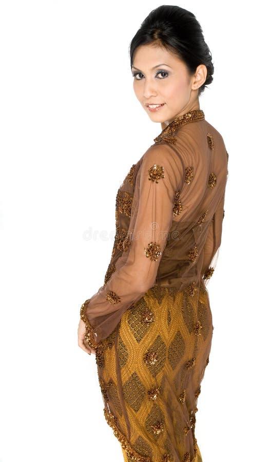 Traditional Malay stock photo