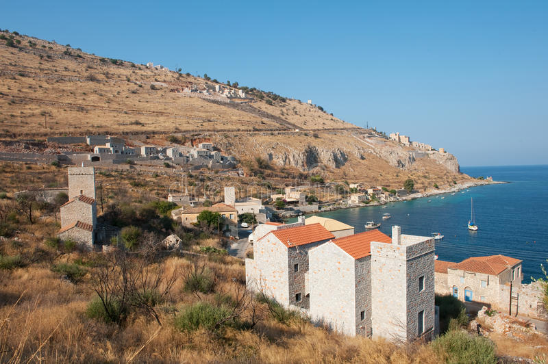 Download Traditional Mani Village In Greece Stock Photo - Image: 14528304
