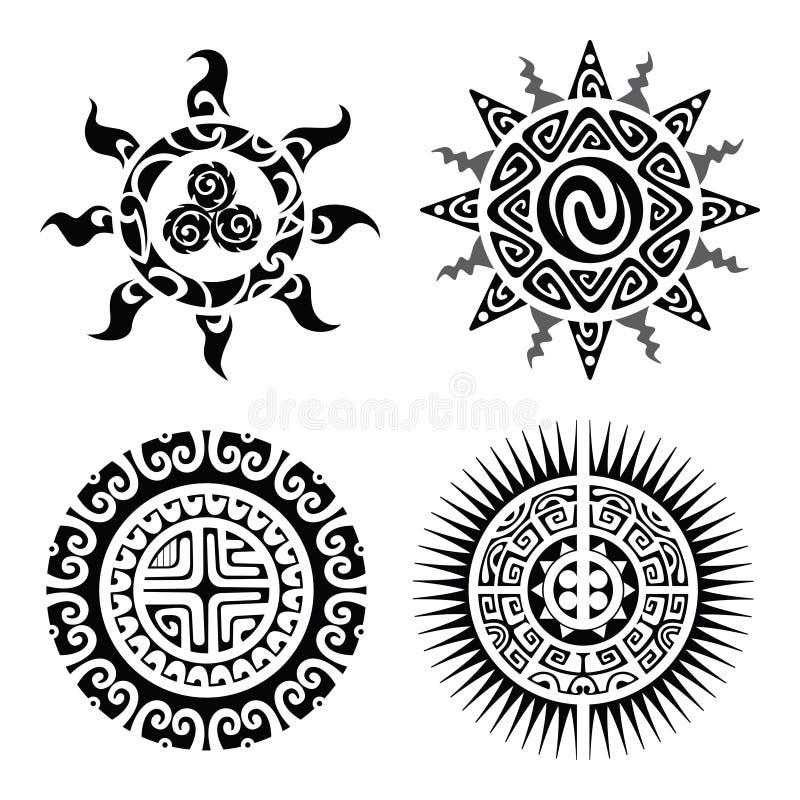 traditional maori taniwha tattoo stock vector illustration of traditional design 57182678. Black Bedroom Furniture Sets. Home Design Ideas