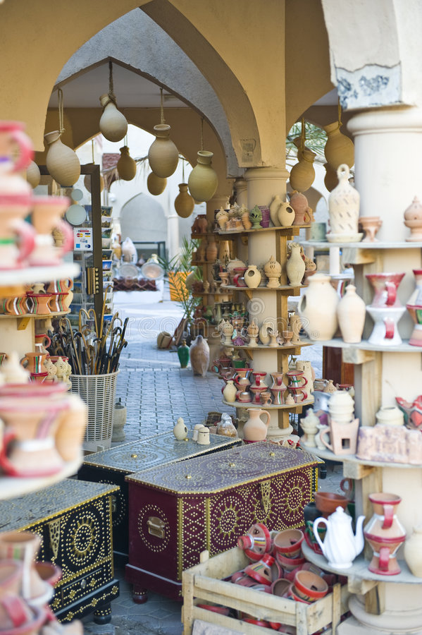Download Traditional market stock photo. Image of tourist, doha - 7960090