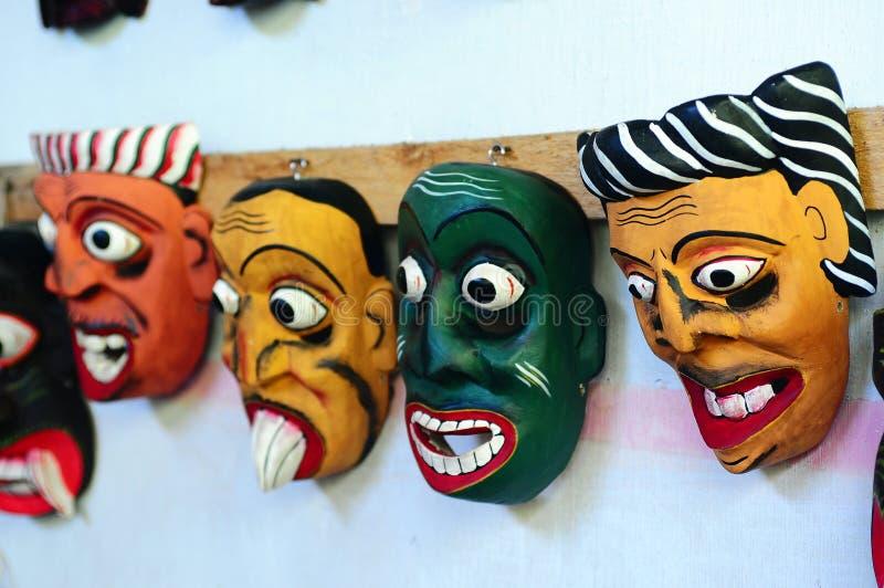Traditional masks stock image