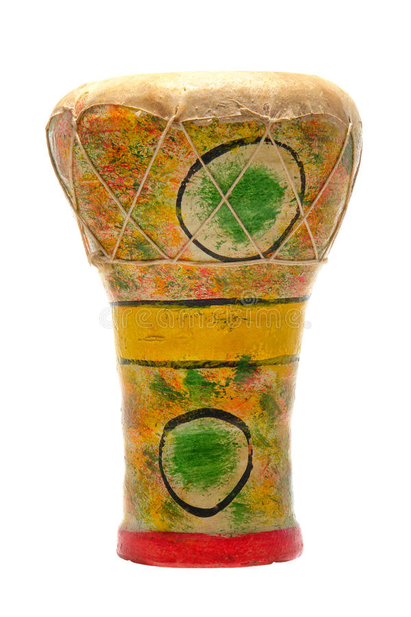 Traditional Middle East Goblet Drum royalty free stock photos