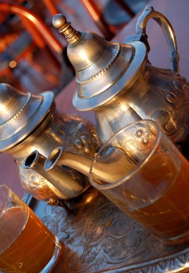 Traditional mint tea royalty free stock photos